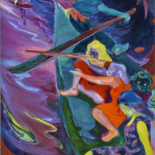 傅饒, 《漁女》 Fisher Girl, 2021