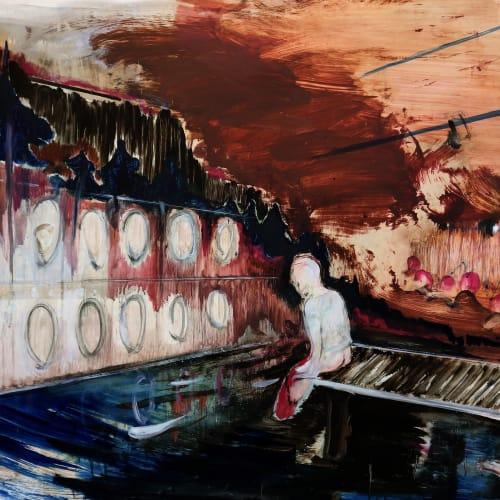 傅饒 , 《洗衣店》 Launderette, 2017-2018