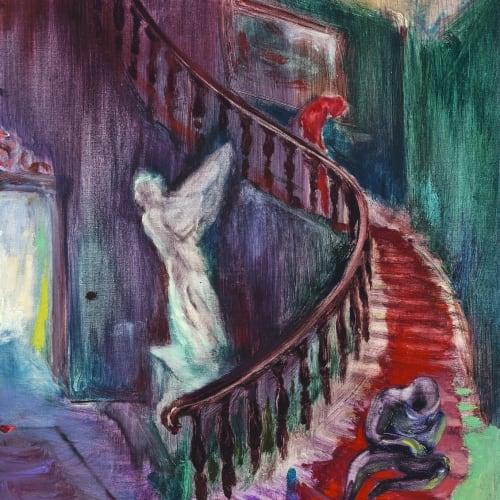 傅饒, 《旋轉樓梯》 Spiral Staircase , 2021