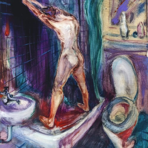 傅饒, 《冷浴》 Cold Bath, 2021