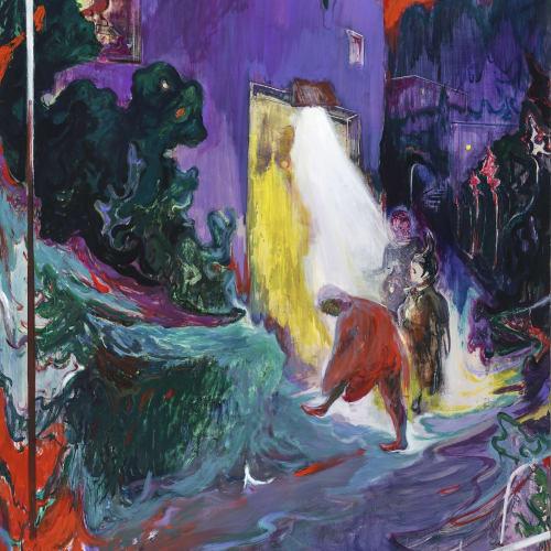 傅饒, 《夜訪者》 Nachtbesuch, 2020