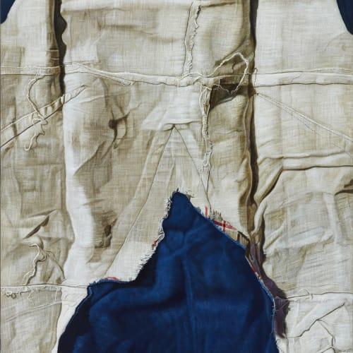 瑪莉娜.克魯斯, 《白色天空下的藍山》 Mountain Against White Skies, 2016