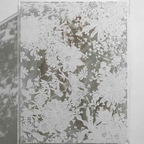 大卷伸嗣, 《迴響- 水晶計畫 白色上衣》 Echoes Crystallization-White Shirt, 2014