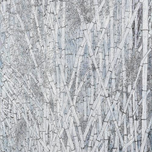 李明則 , 《竹》 Bamboos, 2017