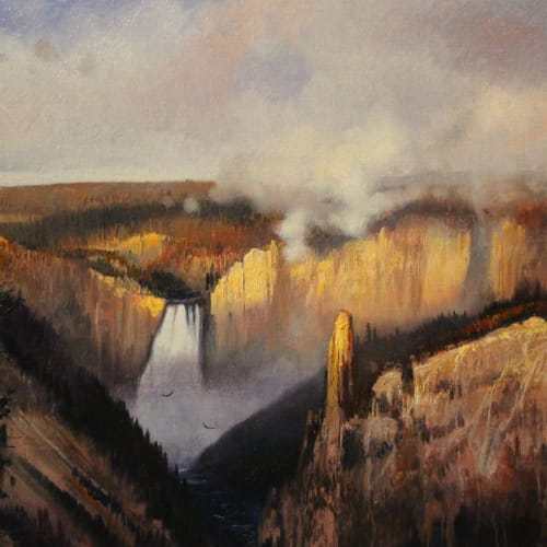 Michael Coleman, LOWER YELLOWSTONE FALLS