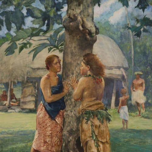 John La Farge, Portrait of Faase, The Taupo of Fagaloa Bay, Samoa, 1891