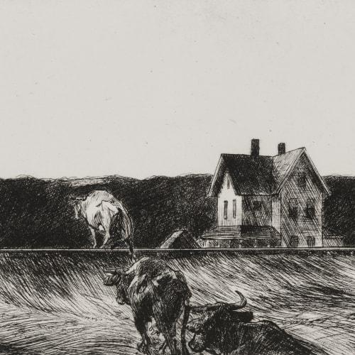 Edward Hopper, American Landscape, 1920