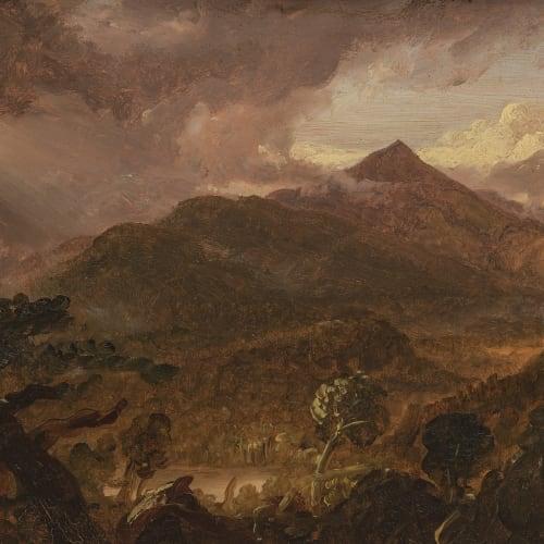 Thomas Cole, View of Schroon Mountain, 1838