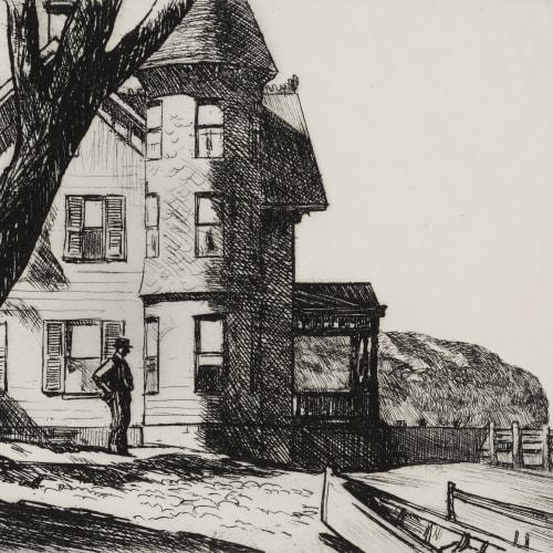 Edward Hopper, House by a River, 1919