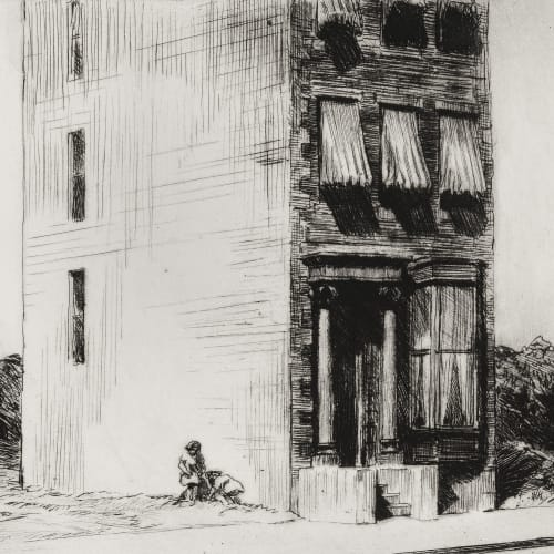 Edward Hopper, The Lonely House, 1922