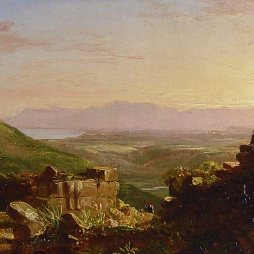Thomas Cole, Italian Scene, 1840s