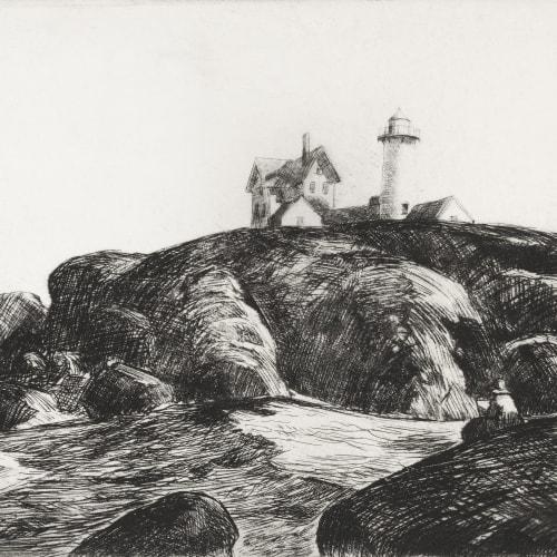 Edward Hopper, The Lighthouse, Maine, 1923