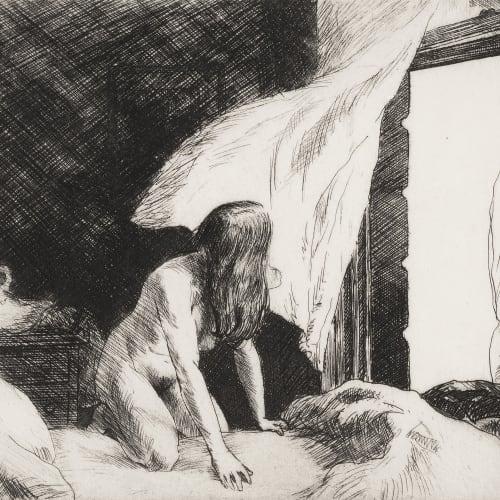 Edward Hopper, Evening Wind, 1921