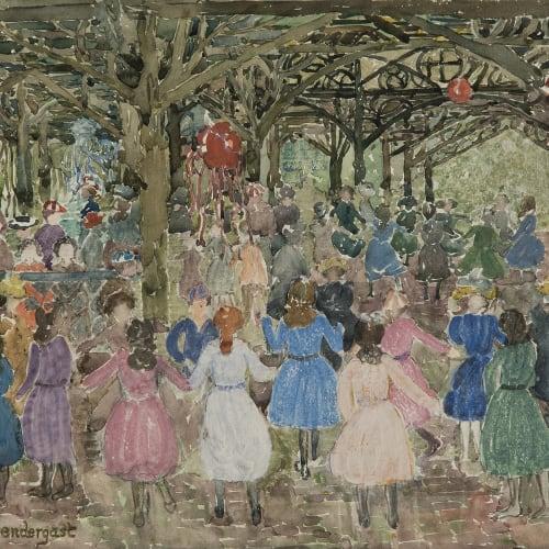 Maurice Brazil Prendergast, Central Park, c. 1900-1903