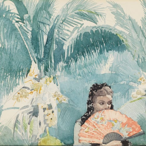Winslow Homer, Spanish Girl with a Fan, 1885