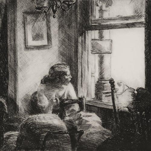Edward Hopper, East Side Interior, 1922