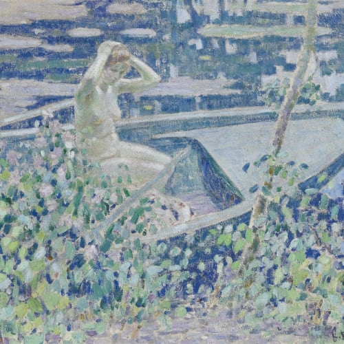 Louis Ritman, Nymph in a Boat