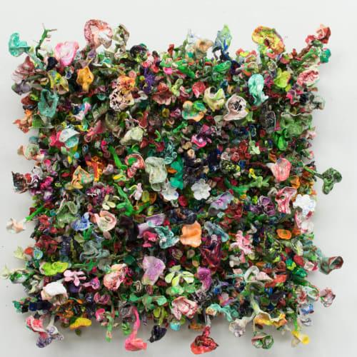 Stefan Gross, Flower Bonanza - green, 2000-2019