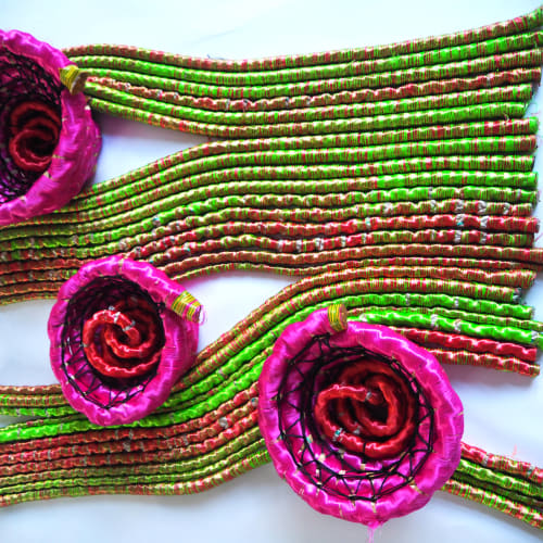 Joana Schneider, Uzumaki Flowers - Carpet