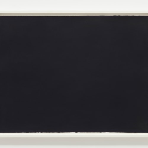 Bob LAW  Black Watercolour, 1987  Watercolour on paper  56 x 76 cm