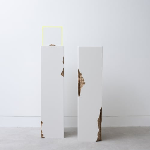 Kyoko Hashimoto and Guy Keulemans, Plinth I & II, 2019