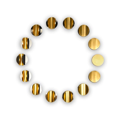 Marion Borgelt, Lunar Circle: Figure H, 2020