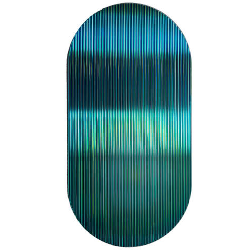 Rive Roshan, Colour Shift Panel Emerald, 2020