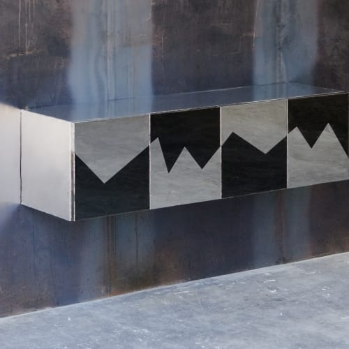 Michael Gittings, Wild Fluctuations Hanging Cabinet, 2019