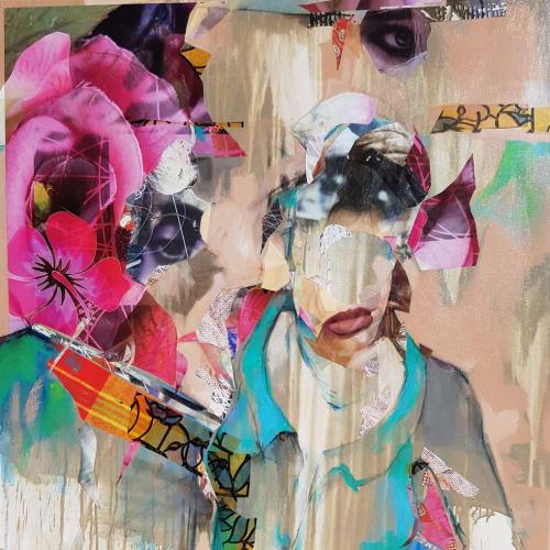 Florence Poirier-Nkpa, No Name #3, 2017