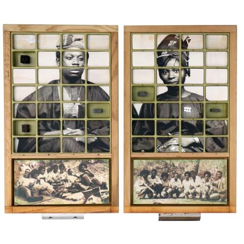 Kelani Abass, Casing History 24 Diptych, 2020