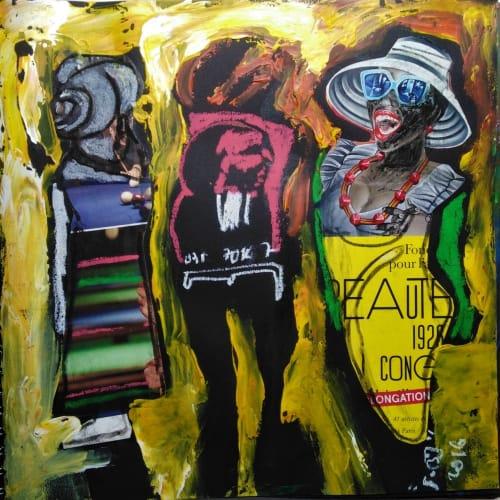 Soly Cissé, Black Book Project 3 (28 Collages), 2016
