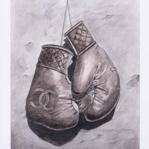 Mohamed Saïd Chair, Boxing gloves, 2018