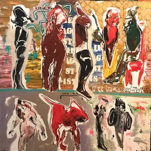 Soly Cissé, Untitled II, 2018