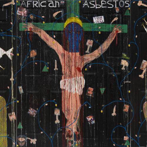 Adjani Okpu-Egbe, African Asbestos (Quadriptych), 2019