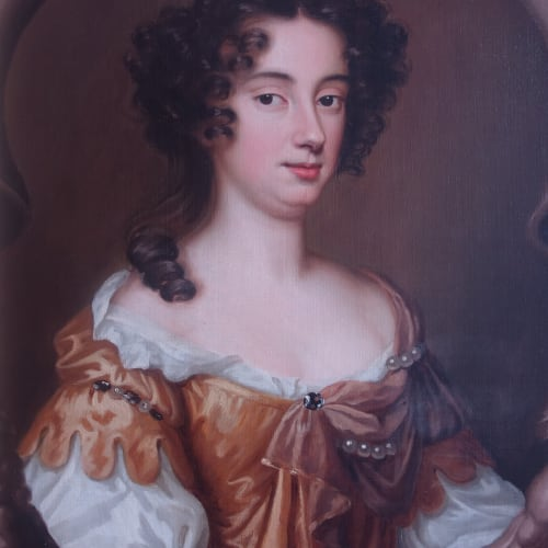 Mary Langham, Lady Delamer, c.1670 by Mary Beale