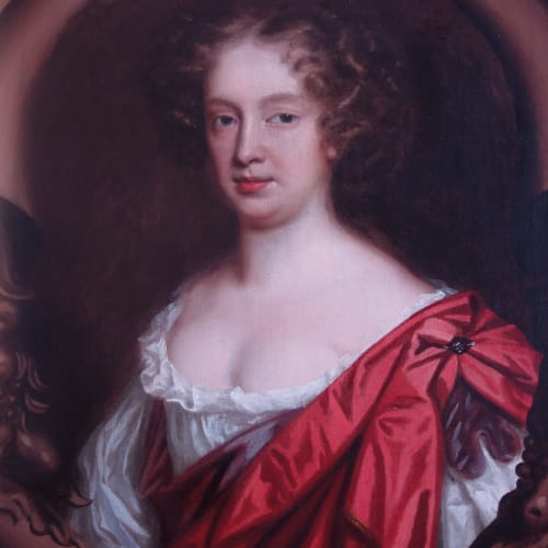 Mary Beale self-portrait, c.1680