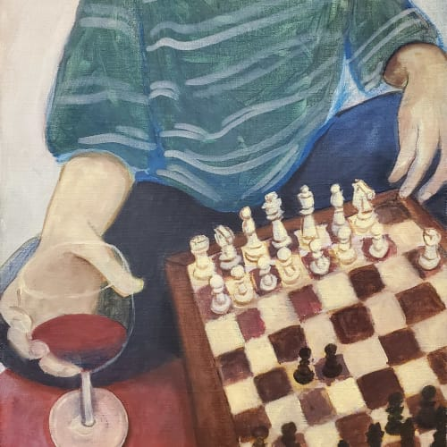 Henry Glover - Chess and Red