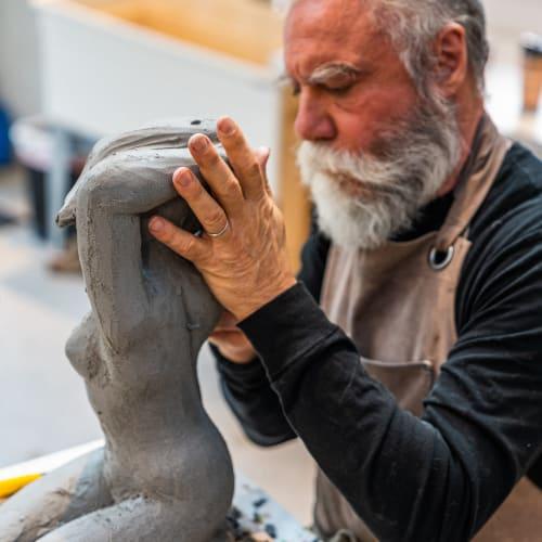 Sculptor and Painter Emilio DiIorio