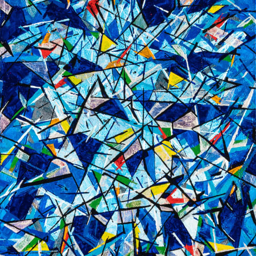 """""""Shattered,"""" 40x60"""
