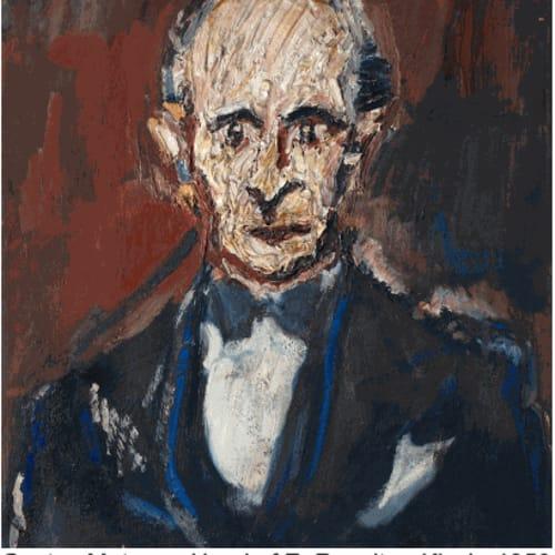 Gustav Metzger, Head of E. Royalton-Kisch, 1950 Courtesy of The Gustav Metzger Foundation