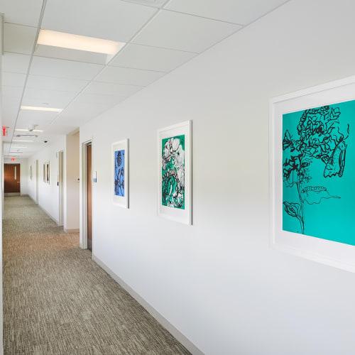 MSKCC Nassau Installation View, Annette Cyr