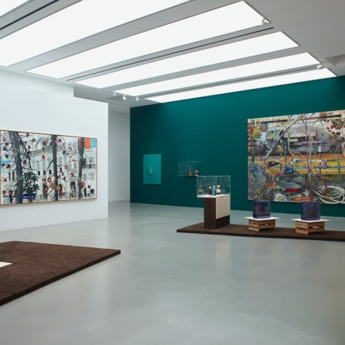 Installation view, Mecarõ. Amazonia in the Petitgas Collection, MO.CO. Hôtel des collections, 2020, Photo: Marc Domage