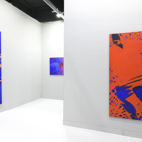 Booth view of Eduardo Secci, Titina Maselli, miart 2021, Decades, Foto The Knack Studio, Courtesy Eduardo Secci, Florence, Milan