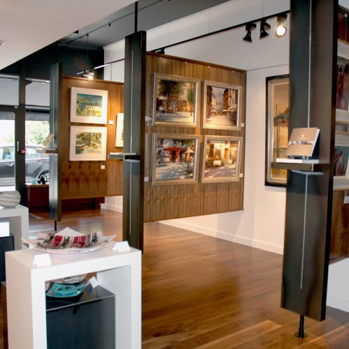 An everchanging display of contemporary British art and ceramics