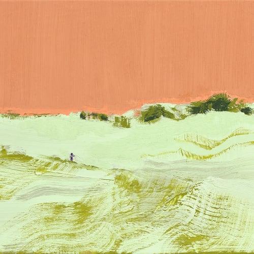 Marine WALLON, Hadar, 2021, Huile sur toile, 40 x 55 cm. Courtesy de l'artiste et de la galerie Catherine Issert