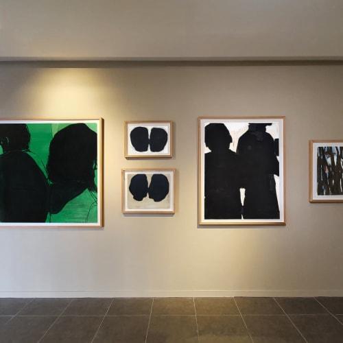 FOCUS Jean Charles BLAIS Vue du stand de la Galerie Catherine Issert Drawing NOW ALTERNATIVE - Faubourg du temple - Paris 2021