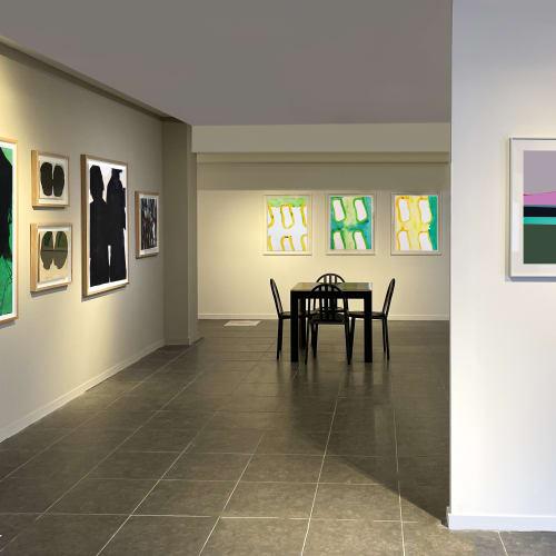 Vue du stand de la Galerie Catherine Issert Drawing NOW ALTERNATIVE - Faubourg du temple - Paris 2021