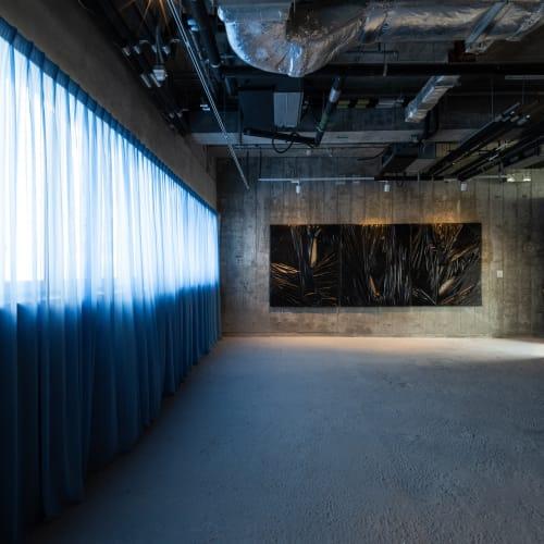 Installation view of Curtain. Courtesy of Para Site, Hong Kong, 2021. Photo: Felix Wong
