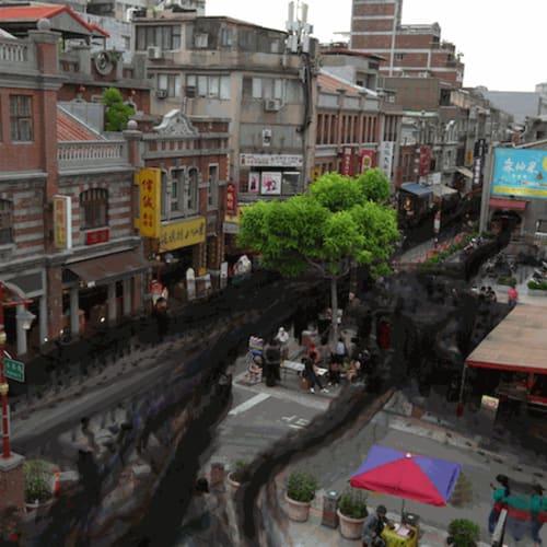 Drawing Study 002 – Urbanscape Taipei (2021) by Wu Chi-Tsung