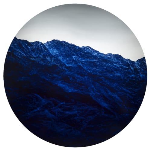 """""""Cyano-Collage 77"""" by Wu Chi-Tsung"""